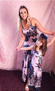 Tal mãe, Tal filha Vestido Longo Azul