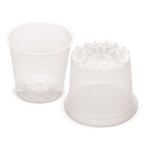 Vaso Plástico para Orquídea 10,8cm X 11,5cm