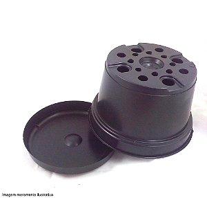 Kit Pote 15 cm + Prato