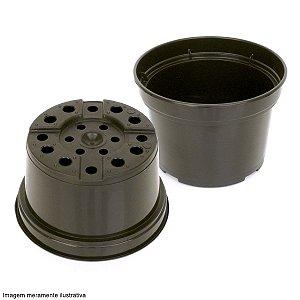 Vaso Plástico 11,5cm x 14,5cm