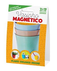 Kit Vaso Organizador e Plantio Com Imã 7cm x 7,5cm