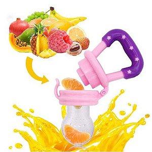 Mordedor Silicone Infantil para Frutas e Legumes