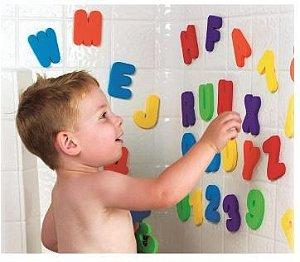 Letrinhas e Números Banho