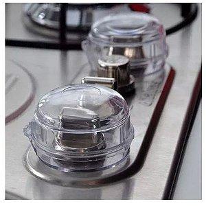 Protetor Botão Fogão Cozinha Kit 02 Peças