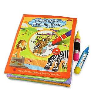 Livro para colorir caneta mágica base d'água