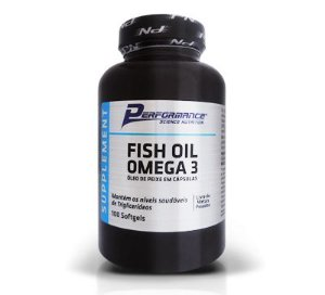 Fish Oil Ômega 3 1000mg (100 cápsulas) - Performance Nutrition