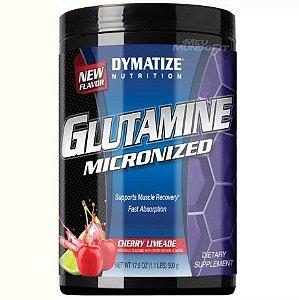 Glutamina Micronizada 500g Sabores - Dymatize
