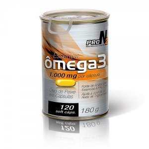 Ômega 3 ProN2 1000mg (120 cápsulas) - ProNutrition