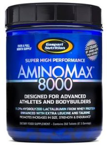 Aminomax 8000 (350 tabletes) - Gaspari Nutrition