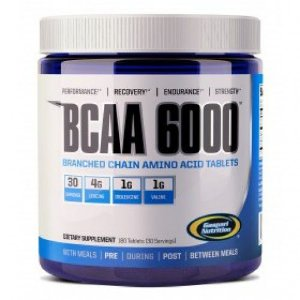 BCAA 6000 (180 tabletes) - Gaspari Nutrition