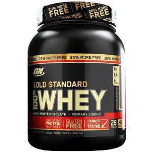100% Whey Gold Standard 2,4lbs (1,100kg) - Optimum Nutrition