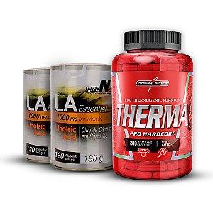 COMBO Therma Pro Hardcore (60 cápsulas) - Integralmédica + [2x] LA Essential 1000mg ProN2 (120 cápsulas) - ProNutrition