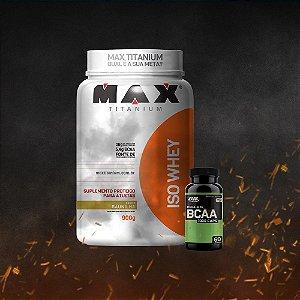 ISO Whey Max Titanium (900g) + BCAA ON 1000 (60 caps)