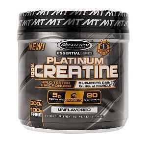Platinum 100% Creatina Micronizada (400g) - MuscleTech