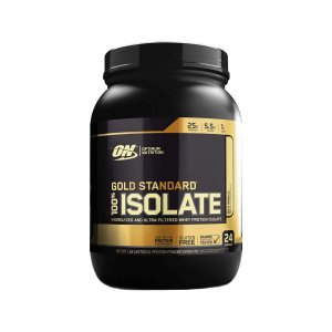 Whey Gold Standard 100% Isolate (720g) + 3 Cake Bites BRINDE - Optimum Nutrition