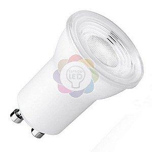 Lâmpada LED Dicróica/MR11 3w GU10 Branca Quente
