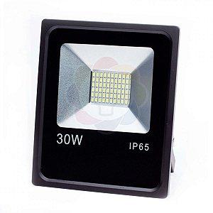 Refletor LED 30w SMD Branco Frio