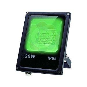 Refletor LED 20w SMD Verde