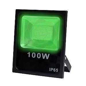 Refletor LED 100w SMD Verde