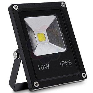 Refletor LED 10w COB Branco Quente
