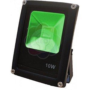 Refletor LED 10w COB Verde