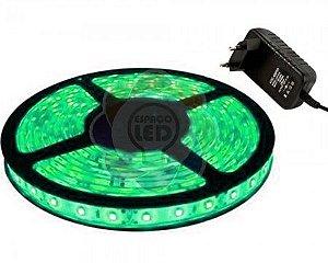 Fita de LED 3528 com 5 Metros Verde