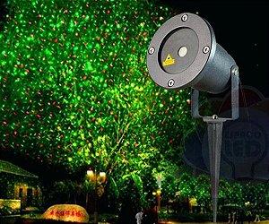 Espeto de LED NATAL para Jardins e fachadas Verde/Vermelho