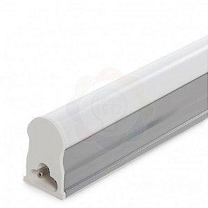 Lâmpada LED Tubular com Calha T5 90 cm 14w Branca Fria