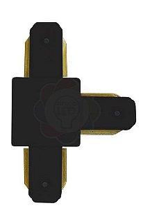 Conexão/emenda T para Trilho Eletrificado Preto