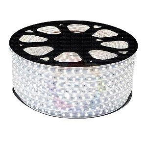 Mangueira de LED 5050 Branco Frio 1 METRO