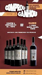 Combo de Inverno 3 - 6 Garrafas de M.I. 2015 tinto, oferta 1 Maria Izabel tinto 2015