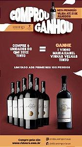 Combo de Inverno 6 - 6 Garrafas de Quinta Maria Izabel 2012 tinto, oferta 1 Vinhas Velhas Maria Izabel tinto