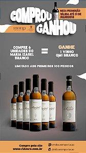 Combo de Inverno 4a - 6 Garrafas de Maria Izabel 2015 branco, oferta 1 Quinta Maria Izabel branco 2015