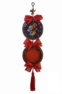 Adorno de Natal - laço vermelho