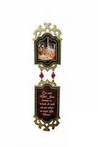 Adorno de Natal - Jesus na Manjedoura