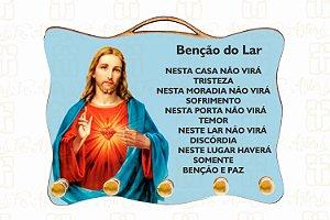 Porta Chaves Sagrado Coração de Jesus