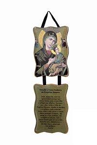 Adorno Nossa Senhora do Perpétuo Socorro