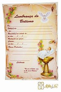 Lembrança de Batismo