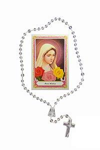 Terço com oração - Nossa Senhora da Rosa Mística