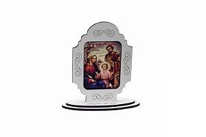 Adorno de mesa Sagrada Familia