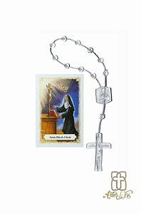Dezena com oração mini -  Santa Rita