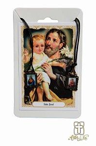Escapulário Sagrado Coração de Jesus e São José