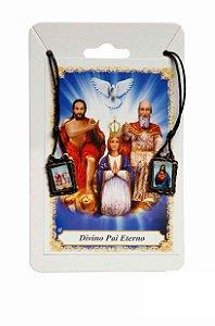 Escapulário Sagrado Coração de Jesus e Divino Pai Eterno