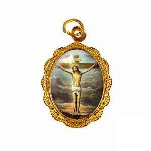 Medalha Jesus Crucificado