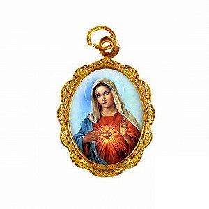 Medalha Sagrado Coração de Maria