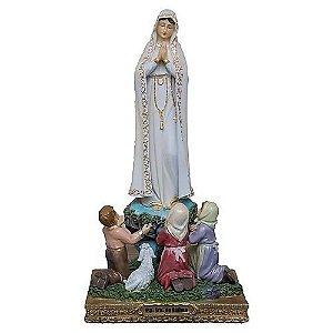 Imagem Nossa Senhora de Fátima com Pastores