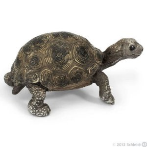 Miniatura Filhote de Tartaruga Gigante Schleich