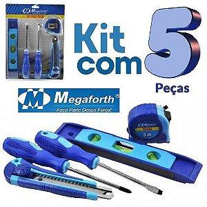 Kit Ferramenta Faça Fácil Megaforth 5 pçs