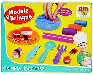 Massinha de Modelar Comida Japonesa DM TOYS