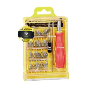 Kit Chave com 30 Pontas House Tools
